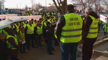 Търговци на горива протестираха в Пловдив