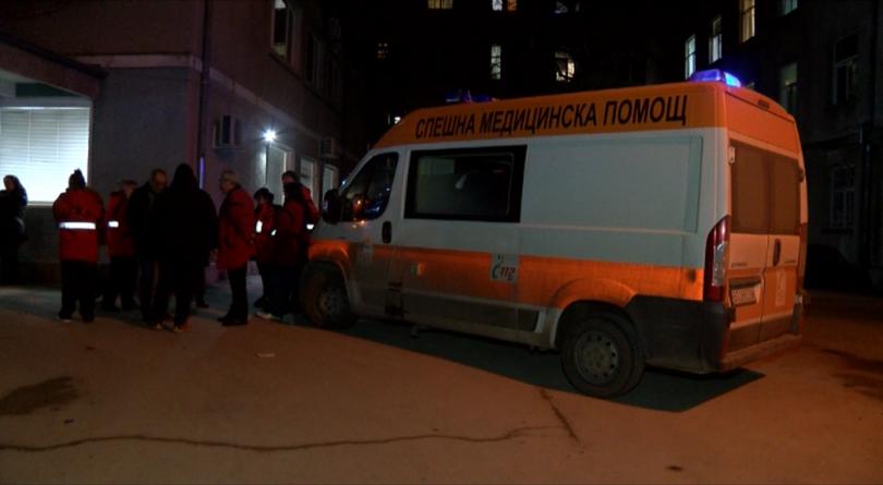 снимка 1 Нападнаха медицински фелдшер от Спешната помощ в Горна Оряховица