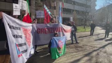 Антифашисти протестираха срещу Луковмарш пред българското посолство в Берлин