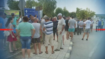 За втори ден протестиращи блокираха пътя Варна - Бургас
