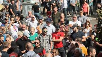 Пореден протест срещу единствения кандидат за нов главен прокурор Иван Гешев