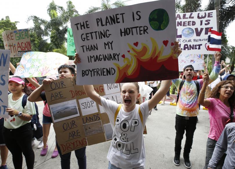 Мащабни протести на младежи срещу климатичните промени ще се проведат