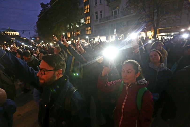 Пореден протест срещу кандидатурата на Иван Гешев за главен прокурор,