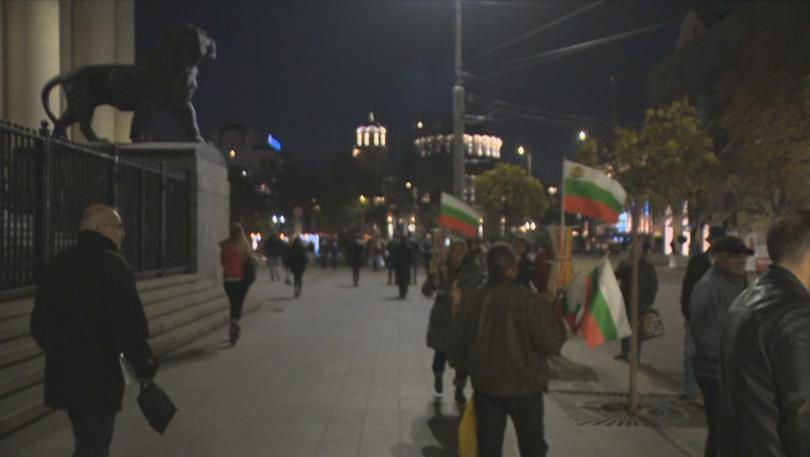 Отново протести срещу избрания за нов главен прокурор Иван Гешев.