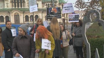 Протест срещу избора на Валери Симеонов за зам.-председател на НС