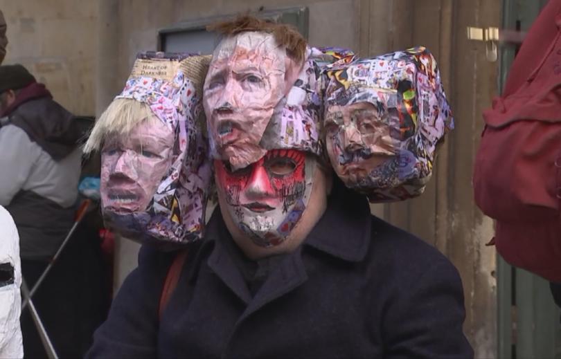 Стотици хора се включиха в демонстрация в Лондон под надслов