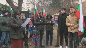 Протест пред посолството на Германия заради отнетото в Хамбург бебе