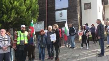 Протест на жителите на Атия срещу изграждане на депо за опасни отпадъци