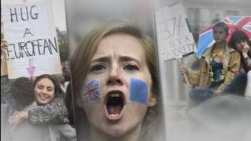Протест срещу Брекзита в Лондон