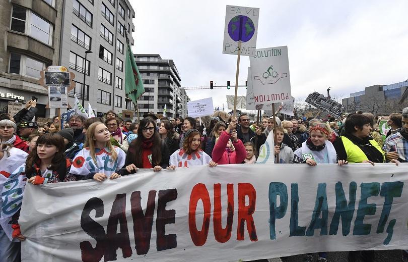 Природозащитници излязоха на протест в Брюксел