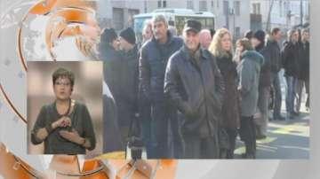Протест на съкратените от Бургаската корабостроителница