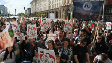 Протести срещу Националната стратегия за детето в 20 града