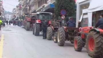 Отново протести на фермери в Гърция