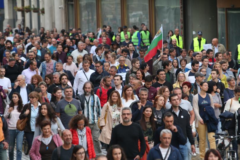 Пореден протест срещу избора на номинирания за главен прокурор Иван