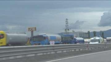 Малки и средни търговци на горива излязоха на протест