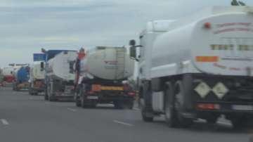 Малки и средни търговци на горива протестираха пред парламента