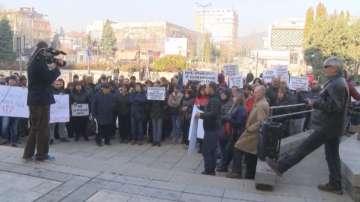 Протест в Горна Оряховица срещу строежа на социални жилища
