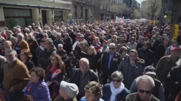 Испански пенсионери излязоха на протест за по-високи пенсии