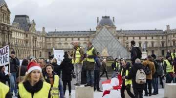 Шести съботен протест на френските жълти жилетки