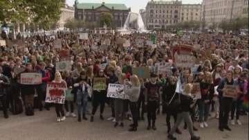 Милиони хора по целия свят се включиха в глобалната стачка за климата  
