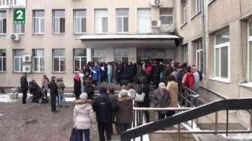 Лекарите от общинските болници в Пловдивско също протестираха