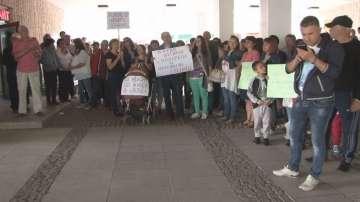 Протестно шествие на лекарите от Ловешката болница