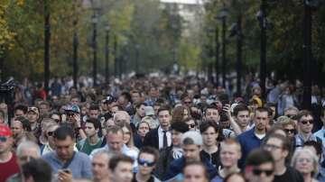 Отново протест на опозицията в Москва