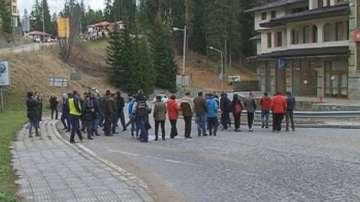 Протест срещу закриването на пожарните служби в Пампорово
