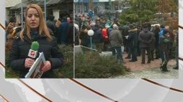 Протест в подкрепа на пловдивския лекар, застрелял крадец