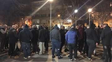 Феновете на Ботев Пловдив на протест заради смъртта на фен в Солун