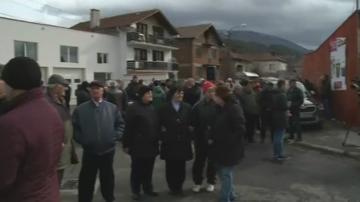 Жителите на с. Джерман на протест срещу изграждането на сметище