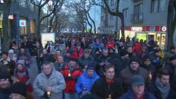 Протести в Словакия заради смъртта на журналист