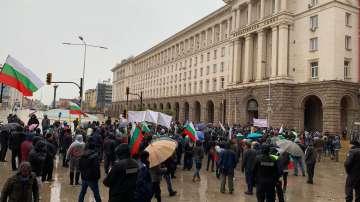 Протестно шествие по софийските улици с искане за смяна на системата