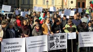 Протести и молитвени шествия срещу промените в Закона за вероизповеданията