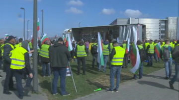 Заради пакета Мобилност: Български превозвачи протестират в София и Страсбург