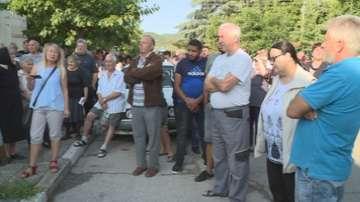 Жители на Струмяни отново протестират срещу тройното поскъпване на водата
