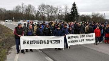 Работници от Кораборемонтния завод Терем - Флотски Арсенал излязоха на протест