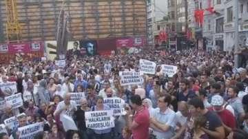Протести в Истанбул заради атентата  на сватба в Газиентеп