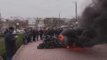 Протести избухнаха в различни градове в Украйна заради липса на парно