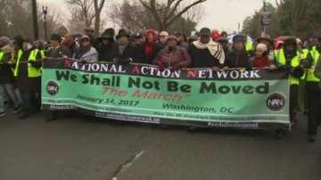 Протести срещу Тръмп във Вашингтон
