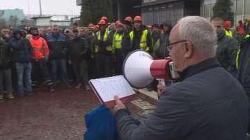 Служители от пристанище Варна-Запад протестираха за по-високи заплати