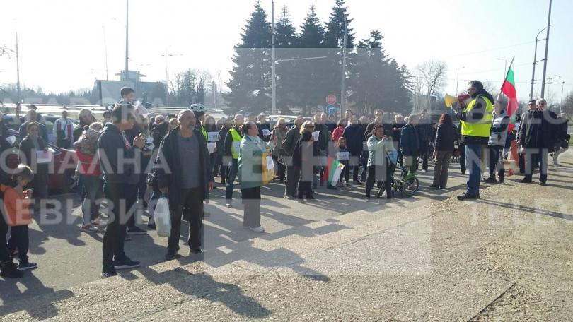 снимка 1 Варненци протестираха срещу презастрояването на парк