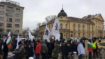 Протест на движение Възраждане с искане за оставката на правителството