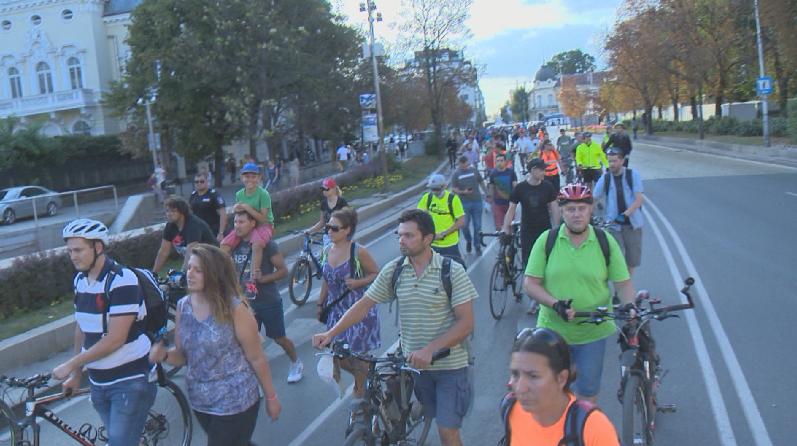 снимка 1 Протести в София и Варна след смъртта на велосипедиста Мартин Чикалов