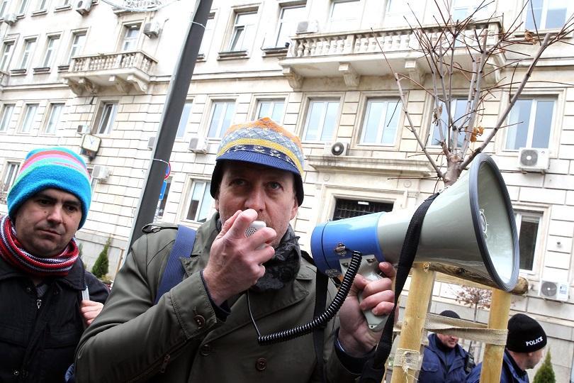 Протестиращи поискаха спешни мерки срещу мръсния въздух в София