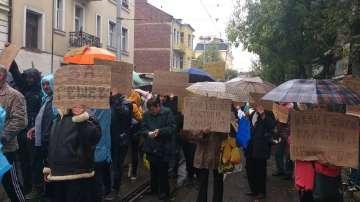 Спокойно протича протестът в подкрепа на Гешев