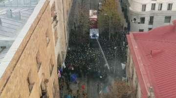 Продължават протестите в Грузия