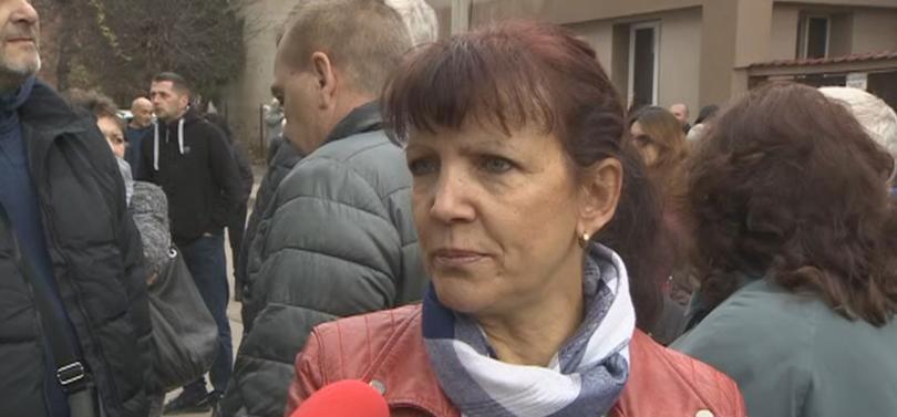 В Перник хората излязоха на протест заради водния режим в