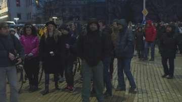 Протестиращите: Палатката стана символ на свободата