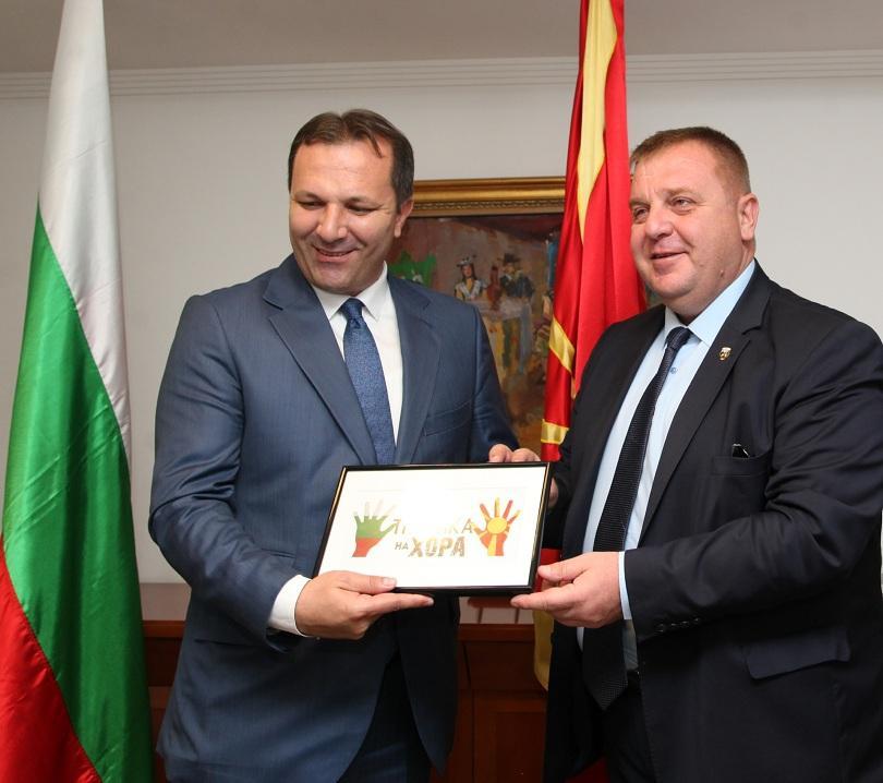 Снимка: София и Скопие подписаха протокол за сътрудничество срещу трафика на хора